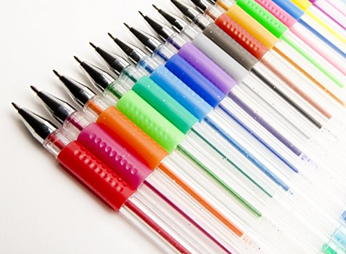 Colored Ink Pens Colored Gel Pens – Amazing